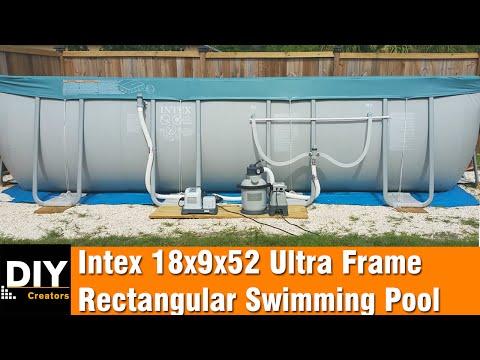 Building An Intex Swimming Pool Doovi