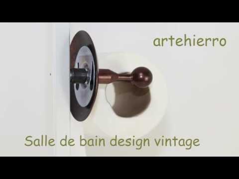 Salle de bain design vintage id al pour la d coration for Deco salle de bain youtube