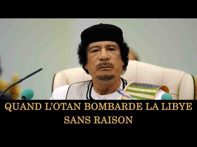 L'OTAN a détruit la Libye et personne ne dit rien | Mouammar Kadhafi