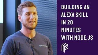 Building an Alexa Skill in 20 minutes using Node.js - London Node User Group - October 2018