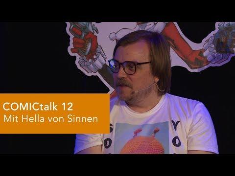 DER COMICtalk 12 - INTRO: Hella von Sinnen, Nilz Bokelberg, Mawil