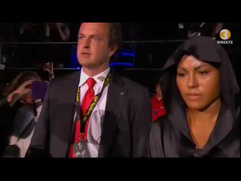 "Brækhus ""The First Lady"" Enters the Ring - Most Epic Entry of All Time"