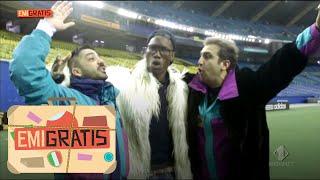 Emigratis - Pio e Amedeo allo stadio con Didier Drogba