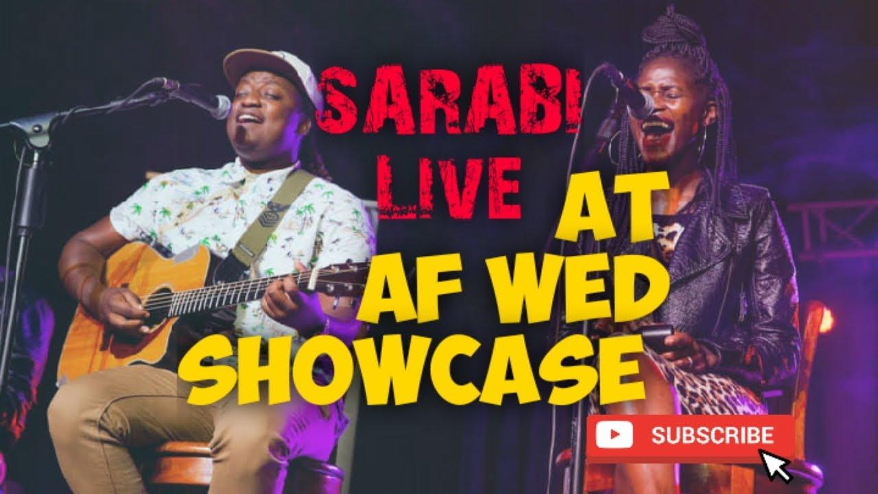 Download SARABI Band - Lean On Me [ ACOUSTIC] Af Showcase Wed.