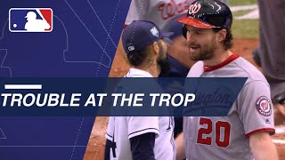 Rays make double switches, tussle with the Nats