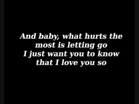Monica - What hurts the most w/lyrics
