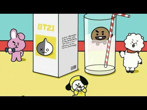 BTS X BT21 compilation video