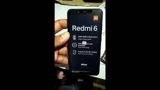 Redmi 6 (Black, 64 GB) (3 GB RAM) UNBOXING