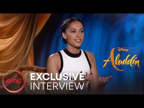 ALADDIN -Interviews (Guy Ritchie, Naomi Scott, Mena Massoud)   AMC Theatres (2019)
