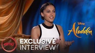 ALADDIN -Interviews (Guy Ritchie, Naomi Scott, Mena Massoud) | AMC Theatres (2019)