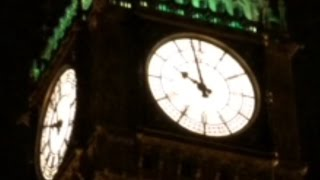 BIG BEN GAINS TIME - Extra Light Predicted - British Summer Time - Forward Thinking - Tick Tock GMT