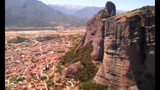 Греция (июнь 2012) Метеоры. В монастыре на каменной скале(Это видео загружено с телефона Android., 2012-06-12T21:05:41.000Z)