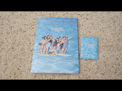 [UNBOXING] Twice - Summer Nights (ver.A)