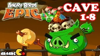 Angry Birds Epic - Epic Battle CAVE 1- 8 Shaking Hall 8 - Angry Birds Game