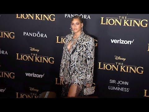 """Beyoncé """"The Lion King' World Premiere Red Carpet"""