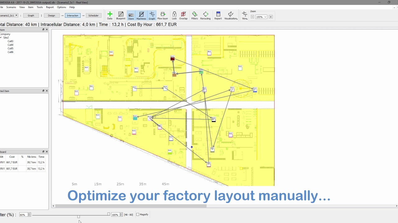 Optimize a production layout and planning through simulation youtube optimize a production layout and planning through simulation malvernweather Image collections