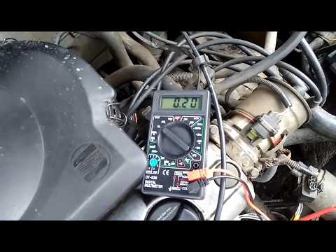 Checking Oxygen Sensor (Air Fuel Ratio Sensor) with a multimeter