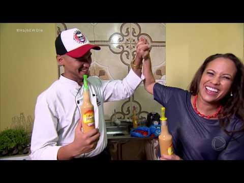 Renata Alves Conhece Jovem Que Virou O Mestre Das Pimentas Em Manaus