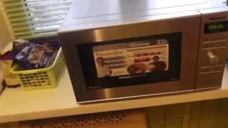 Микроволновая печь с грилем Panasonic NN-GD382S. Обзор.