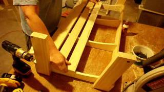 How To Build A Porch Swing Part 2