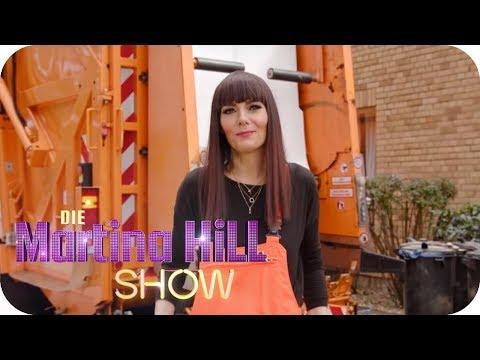 Larissa testet Berufe: Müllmann | Die Martina Hill Show | SAT.1