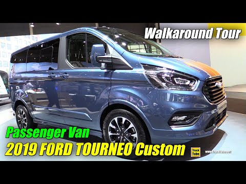 2019 Ford Tourneo Custom Passenger Van - Exterior and Interior Walkaround - 2018 IAA Hannover