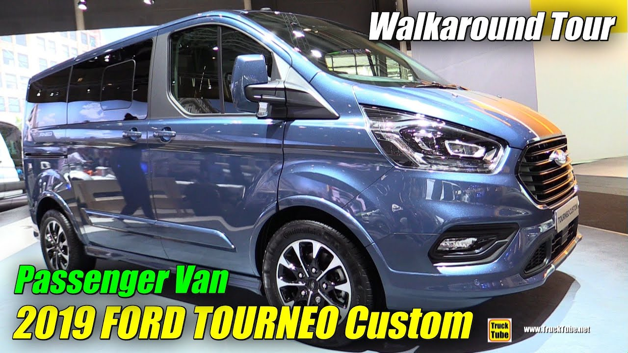2019 ford tourneo custom passenger van exterior and. Black Bedroom Furniture Sets. Home Design Ideas