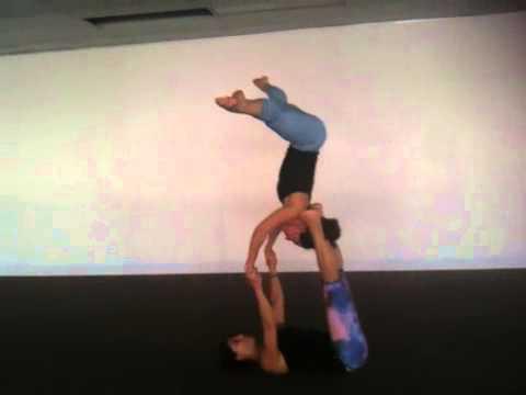 AcroYoga flow - Einat Bardea & Melissa Smith