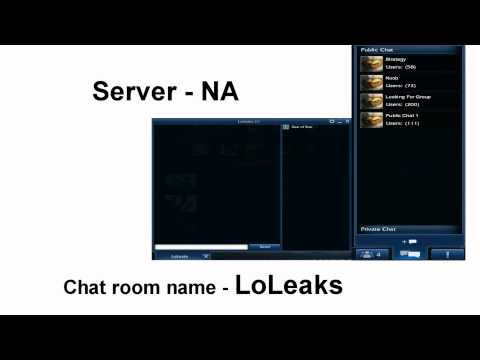 Join LoLeaks Chat Room