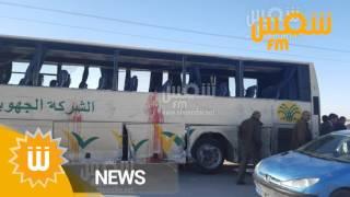 اصطدام شاحنة فسفاط بحافلة في قفصة: سائق الحافلة يتحدث عن صورة الحادث