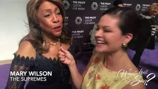 The Supremes MARY WILSON interview at Paley Center