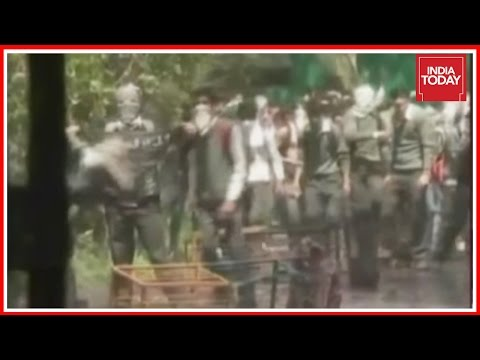 Clashes Break Out Between Students & Cops At SP College In Srinagar