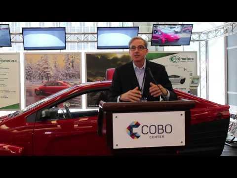 Elio Motors Press Conference at the North American International Auto Show