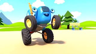 Синий Трактор 3D - Клад и колёса - Новые мультики про машинки