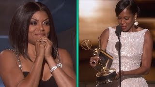 Taraji P. Henson Freaks Out Over Regina King's Emmy Win -- And It's AMAZING.