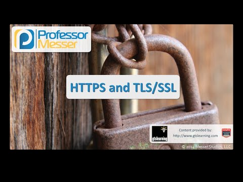 HTTPS and TLS/SSL - CompTIA Security+ SY0-401: 1.4