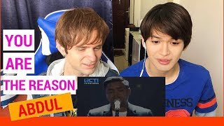 Abdul YOU ARE THE REASON Reaction (Indonesian Idol Spekta Show Top 5)