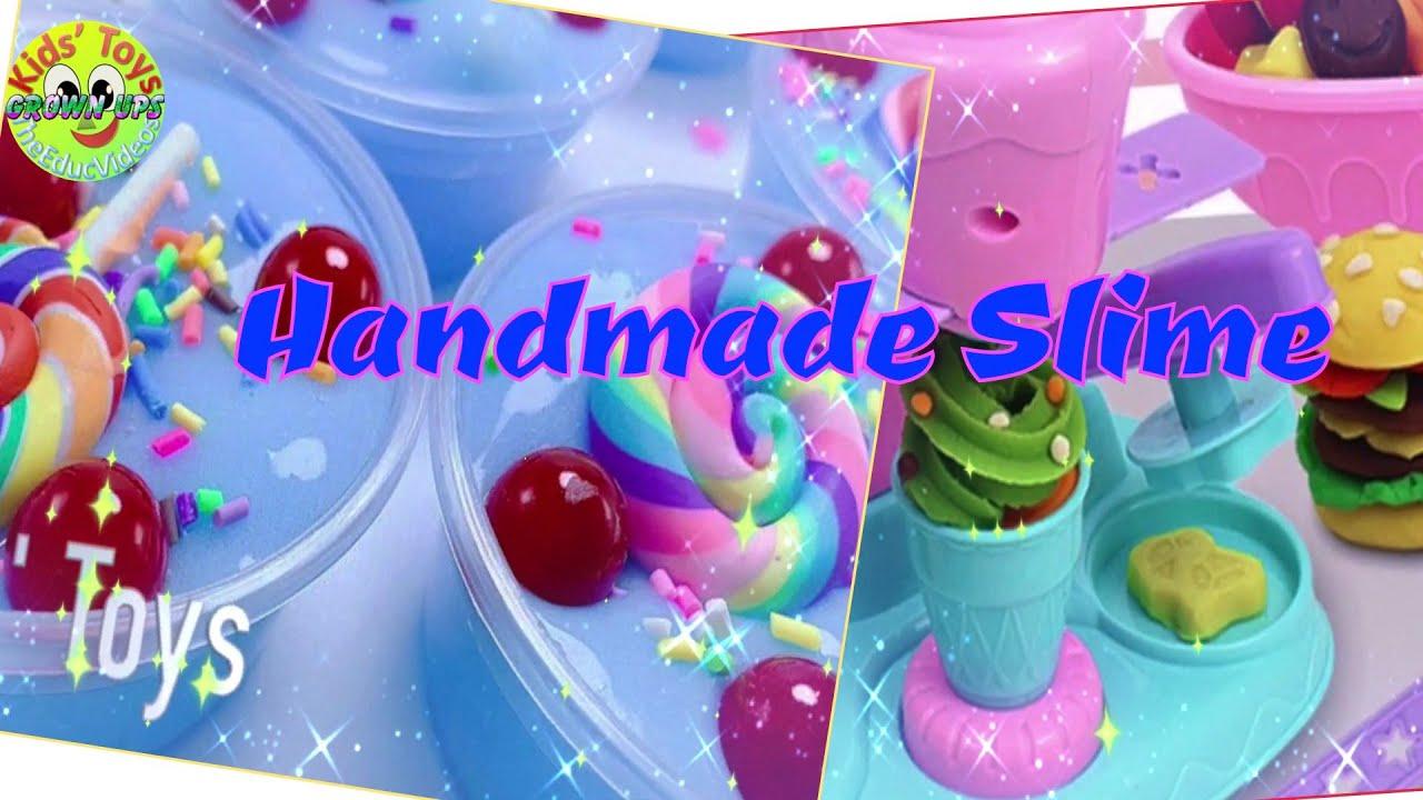 DIY Handmade Slime Clay (Throwback) - Grown Ups Kids' Toys