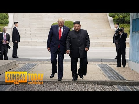 Trump Becomes 1st Sitting US President To Step Into North Korea | Sunday TODAY