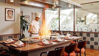 Teppanyaki grill @ Restaurant UNKAI