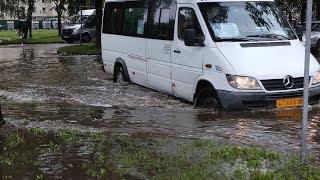 Сильный потоп в Гродно