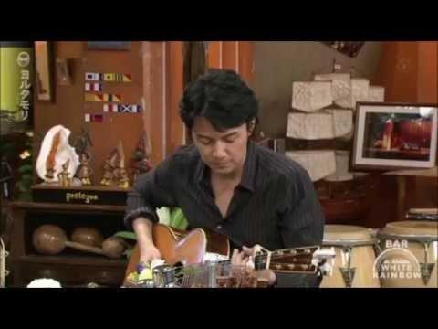 福山雅治さんがテレビで銭形平次を弾き語り