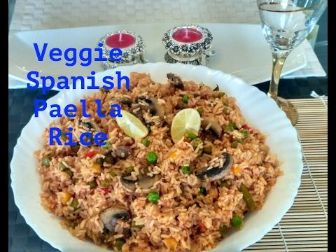 Veg Paella| Spanish Style Veggie Rice | वेज पुलाव स्पैनिश स्टायल
