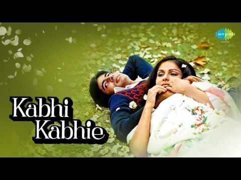 Kabhi Kabhie Mere Dil Mein - Amitabh Bachchan - Mukesh - Kabhi Kabhie [1976]