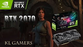 AMD Ryzen 5 2400G 8GB DDR4 NVIDIA RTX2070 Rise of the Tomb Raider Game Benchmark Results 2019