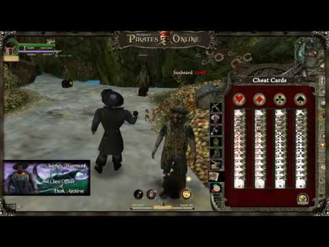 The Legend of Pirates Online: Maxing Cheat Cards!