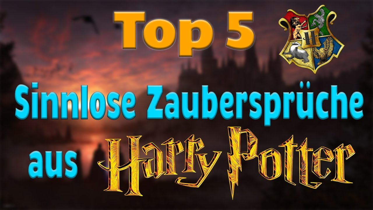 zauberspruch harry potter