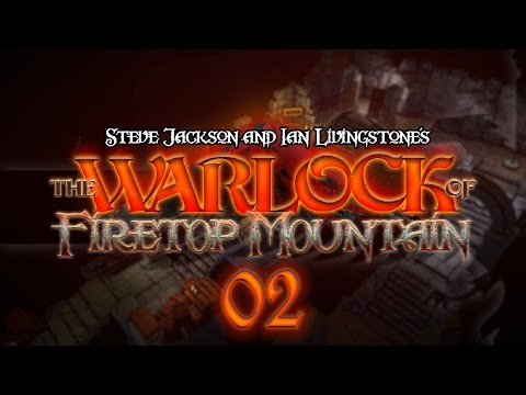 The Warlock of Firetop Mountain #02 EYE OF THE CYCLOPS - Fight Fantasy Let's Play