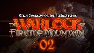 The Warlock of Firetop Mountain #02 EYE OF THE CYCLOPS - Fight Fantasy Let
