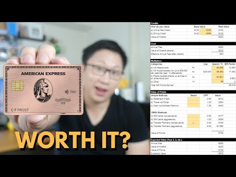 Is the American Express® Gold Card Worth the Annual Fee? — AskSebby